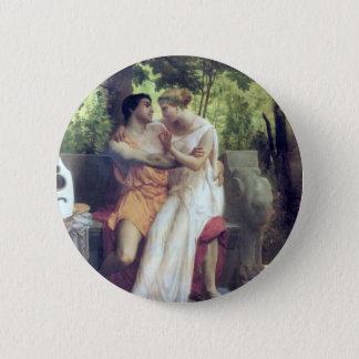 L'Idylle (1850) Runder Button 5,1 Cm