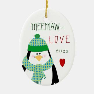 Liebe 2017 Grandmom oder anderes Keramik Ornament