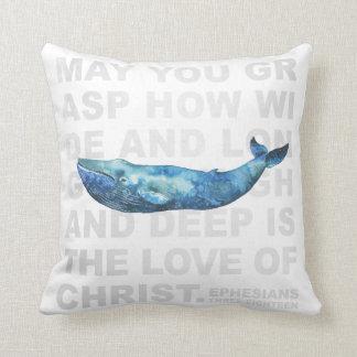 Liebe 3:18 Christus Ephesians des modernen Kissen