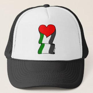 Liebe 4 Palästina! Truckerkappe