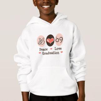 Liebe-Abschluss des Friedens09 scherzt mit Kapuze Hoodie