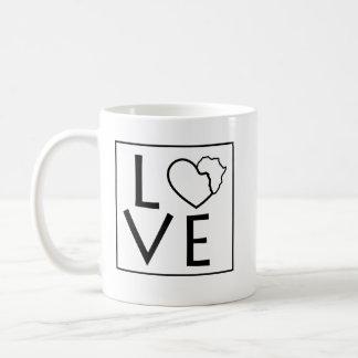 Liebe-Afrika-Kaffee-Tasse Kaffeetasse