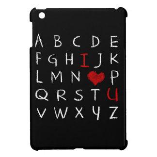 Liebe-Alphabet iPad Mini Hülle