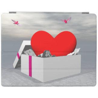 Liebe als Geschenk - 3D übertragen iPad Smart Cover