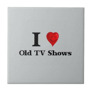 Liebe alte Fernsehshows Keramikfliese