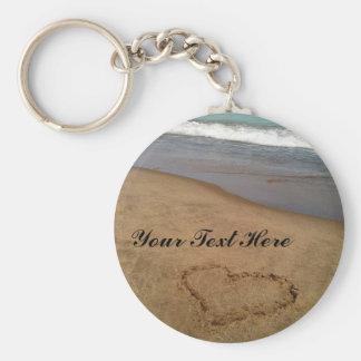 Liebe am Strand Keychain Schlüsselanhänger