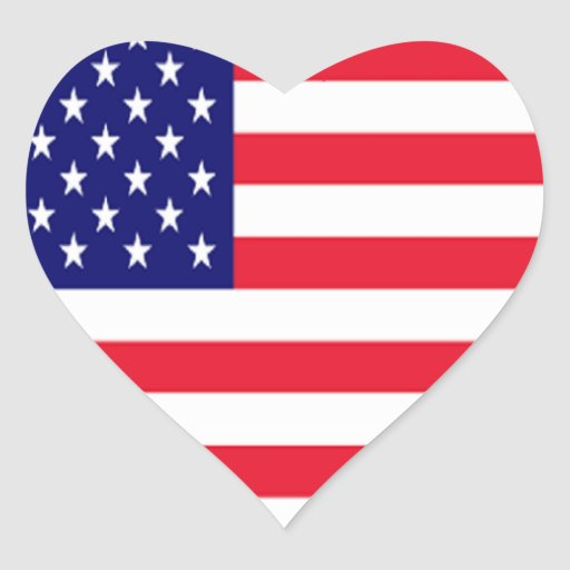 Liebe Amerika USA I Aufkleber