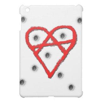Liebe-Anarchie-Symbol iPad Mini Hülle