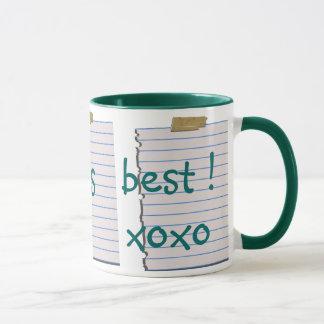 Liebe-Anmerkungen für Papa-Tasse Tasse
