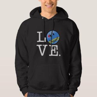 Liebe-Aruba-Insel-Stolz Hoodie