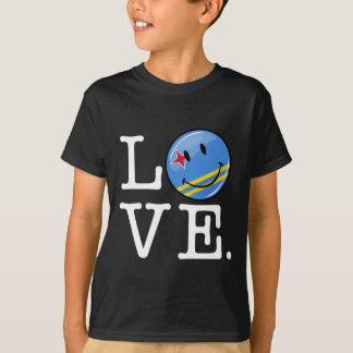 Liebe-Aruba-Insel-Stolz T-Shirt