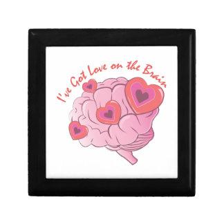 Liebe auf Gehirn Erinnerungskiste