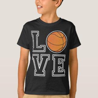 Liebe-Basketball T-Shirt