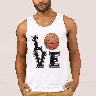 Liebe-Basketball-Uni-Art Tank Top