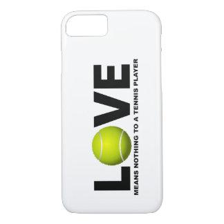 Liebe bedeutet nichts zu einem Tennis-Spieler iPhone 8/7 Hülle