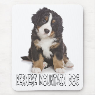 Liebe Bernese Gebirgswelpen-Hundemausunterlage Mauspad