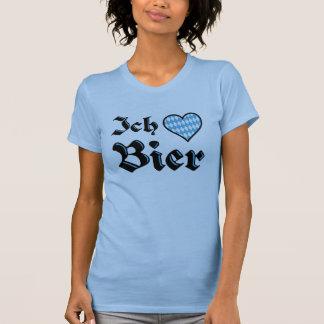 Liebe-Bier-T - Shirt des Bayer-I