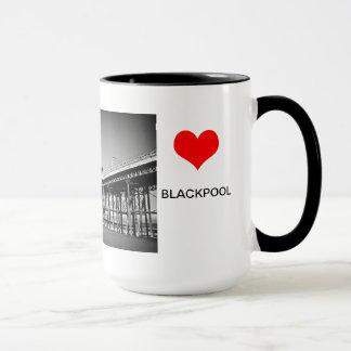 Liebe Blackpool Tasse