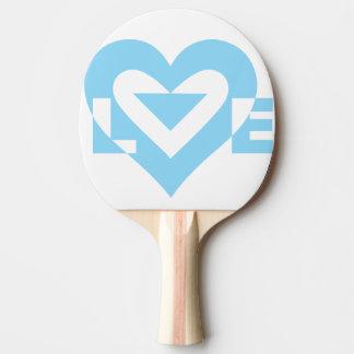 Liebe-Blau Tischtennis Schläger