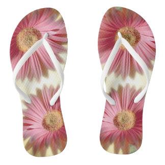 Liebe-Blumen drehen Reinfälle um Flip Flops