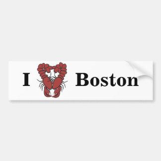 Liebe-Boston-Spaß-Hummer KRW I Autoaufkleber