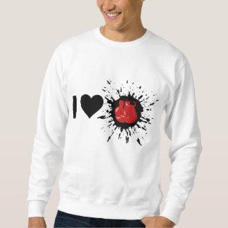 Liebe-Boxen des Sprengstoff-I Sweatshirt