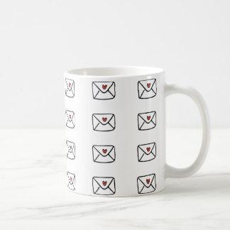 Liebe-Buchstabe-Tasse Tasse