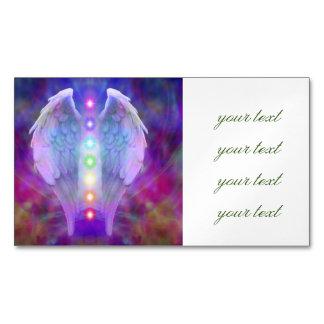 Liebe, chakra, Engel, Gott, der Heiler, heilend, Visitenkartenmagnet
