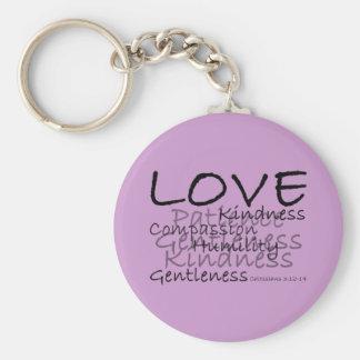 Liebe (Colossians 3) Keychain Schlüsselanhänger