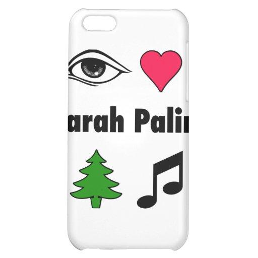 Liebe-Countrymusik Sarahs Palin iPhone 5C Cover