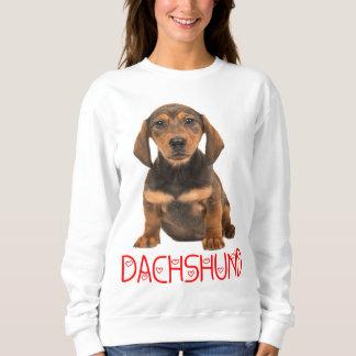 Liebe-Dackel-Welpen-Hundesweatshirt Sweatshirt