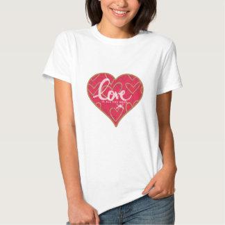 Liebe-Damen-T - Shirt