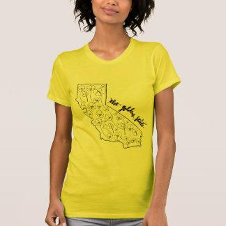 Liebe das goldene Staats-Shirt T-Shirt