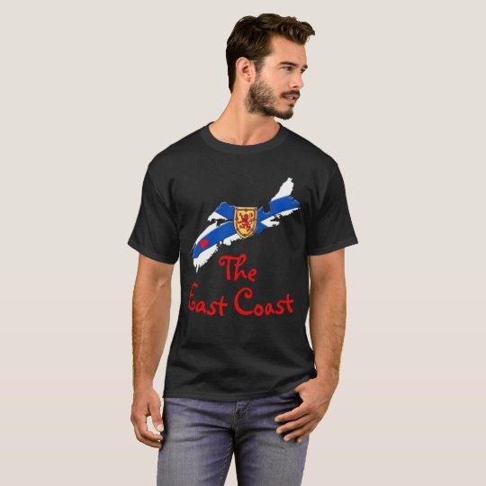 Liebe das Ostküsten-Herz-Neuschottland-Shirt T-Shirt