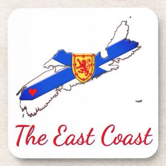 Liebe das Ostküsten-Neuschottland-   Set der Untersetzer