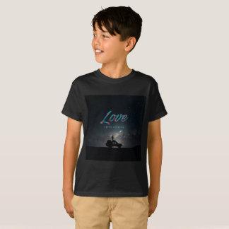 … Liebe dauert für immer… den T - Shirt des Jungen