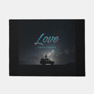 … Liebe dauert für immer… Fußmatte Türmatte