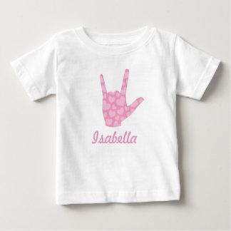 Liebe der ASL-Zeichen-Spracheni zacken Sie Baby T-shirt
