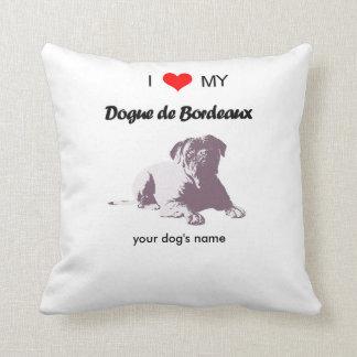 Liebe der Gewohnheit I meinen Dogue de Bordeaux Kissen