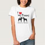 Liebe der Gewohnheits-I meine Boxer Tshirts