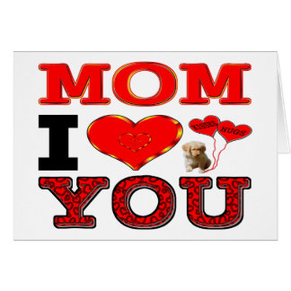 Liebe der Mamma-I Sie Grußkarte