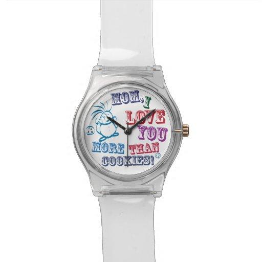 Liebe der Mamma-I Sie mehr als Plätzchen! Armbanduhr