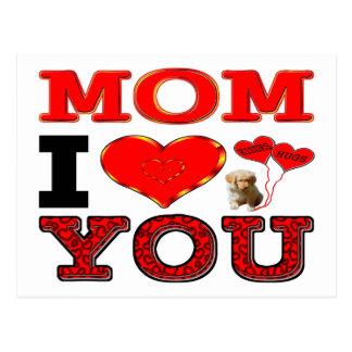 Liebe der Mamma-I Sie Postkarten