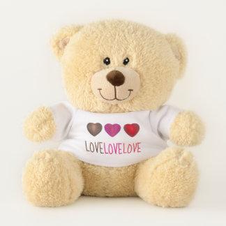LIEBE der rote rosa Tag Teddybär