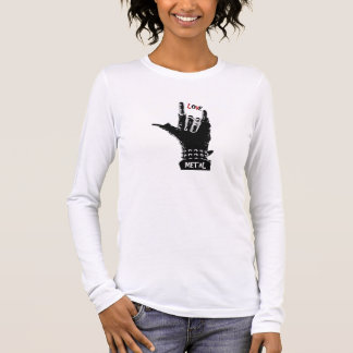Liebe des Metall  Langarm T-Shirt