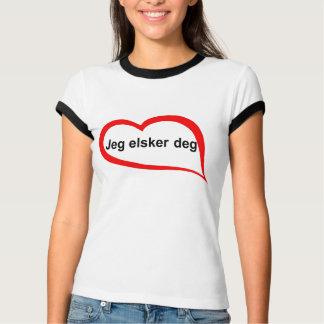 Liebe des Norwegers I Sie T-Shirt