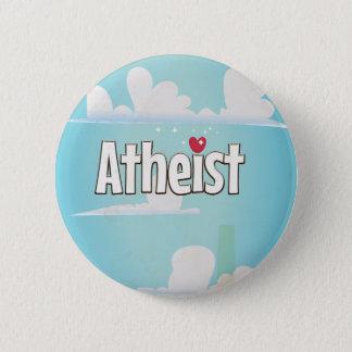 Liebe, die ein Atheist ist Runder Button 5,7 Cm