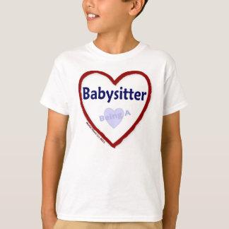 Liebe, die ein Babysitter ist T-Shirt