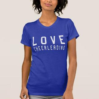 LIEBE, die Ladys Shirt Cheerleading ist