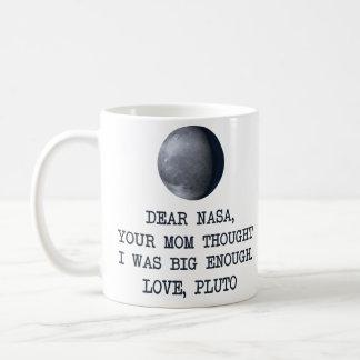 Liebe die NASA-Liebe Pluto Kaffeetasse